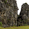 Lava rock formations everywhere