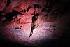 Crack in the wall of Lava Tunnel in Raufarholshellir