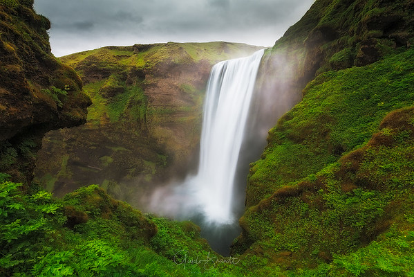 The Guardians of Skogafoss