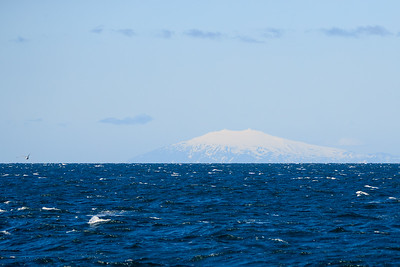 Snæfellsjökull (1446m) At The Tip Of The Snæfellsnes Peninsula As Seen From Reykjavík Iceland