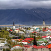 <H3>The Colorful Rooftops of Reykjavik </H3> This is the world's most northerly capital - Reykjavik is an energetic and beautiful city located in the southwest of Iceland - where a big portion of the country's population dwells. I was fascinated by all the colorful buildings around town - there is a certain bright and charming feel to it even on overcast days like this