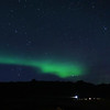 Northern Lights Sept. 5, 2018  outside Hotel Budir