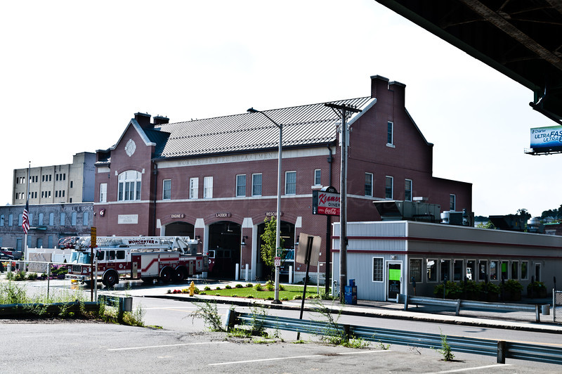 New Fire Barn, SIte of ofrmer Cold Stprage & New Kenmore Diner