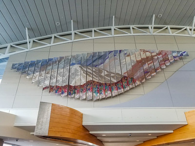 Entrance to Boise airport