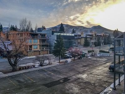 View to Southeast, Hotel Ketchum, Ketchum, Idaho
