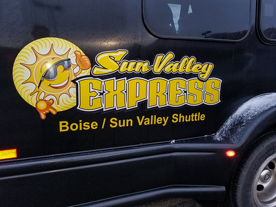 My ride from Sun Valley to the Boise airport