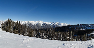 Sawtooth Mountains Panorama