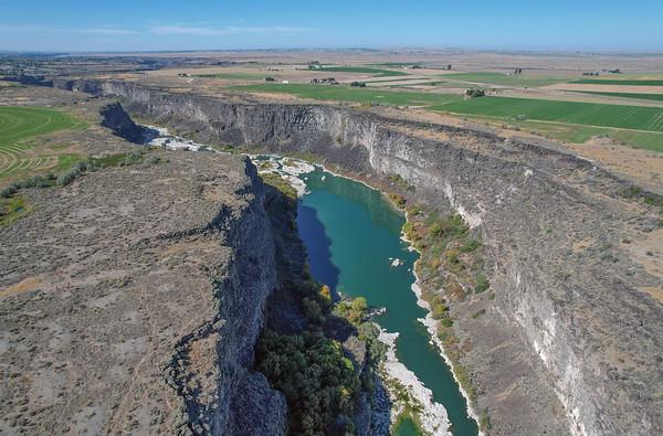 Snake River, Hansen Idaho