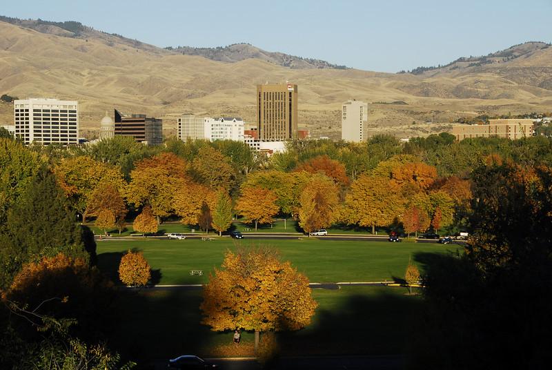 Boise Skyline Autumn