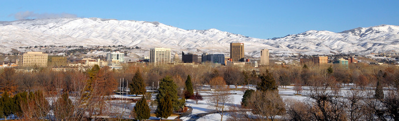 Boise Skyline Winter