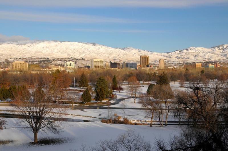 Boise Skyline Winter