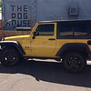 Yellow Jeep by The Dog House