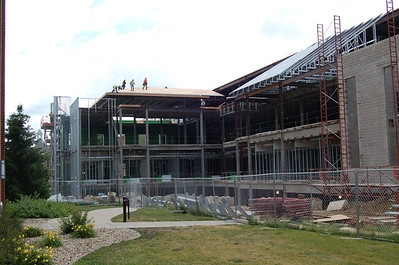 New Business and Science Center at Monmouth College, June, 2012
