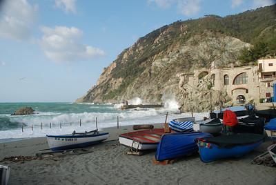 Monterosso harbour