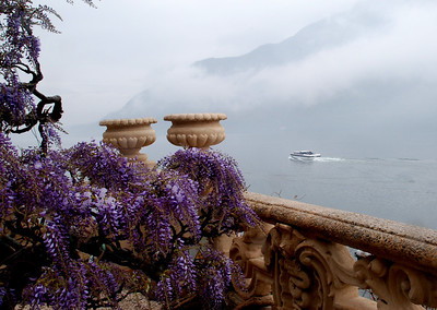 View of Lake Como from Villa del Balbianello