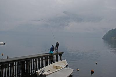 Fishermen, Lake Como