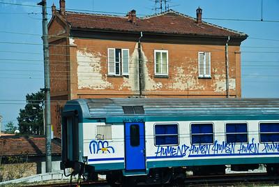 Italian Grafitti, near Milan
