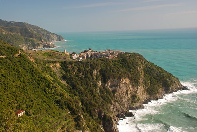 Looking back at Corniglia