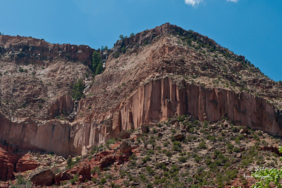Sharp cliffs