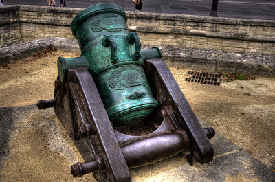 Cannon at the Musée de l'Armée (Museum of the Army), Paris