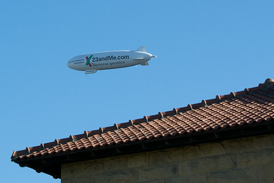 Zeppelin over Stanford