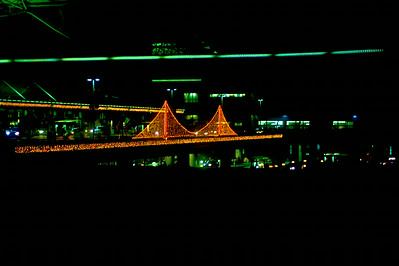 SFO Christmas decorations