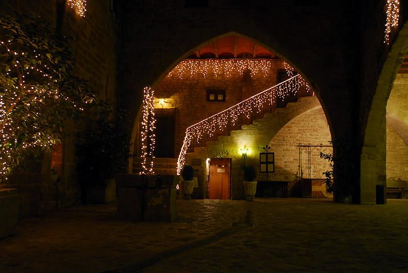 Parador de Cardona en Navidad
