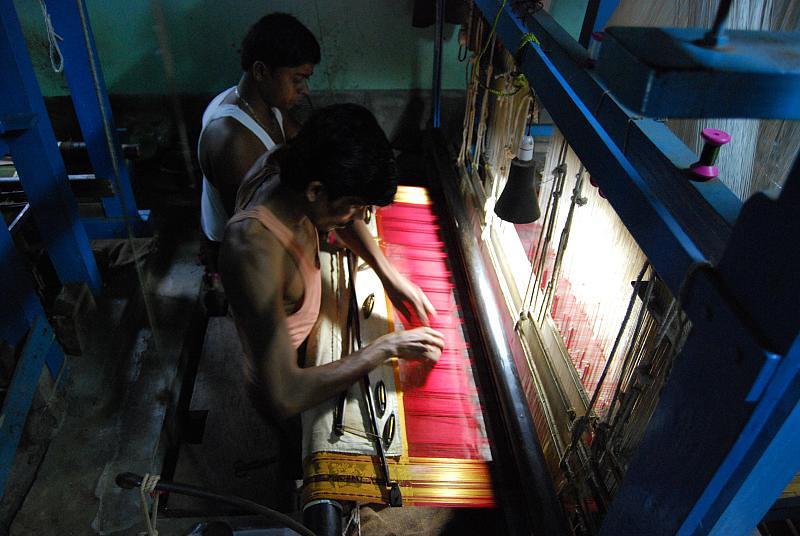 Weavers in Bishnupur