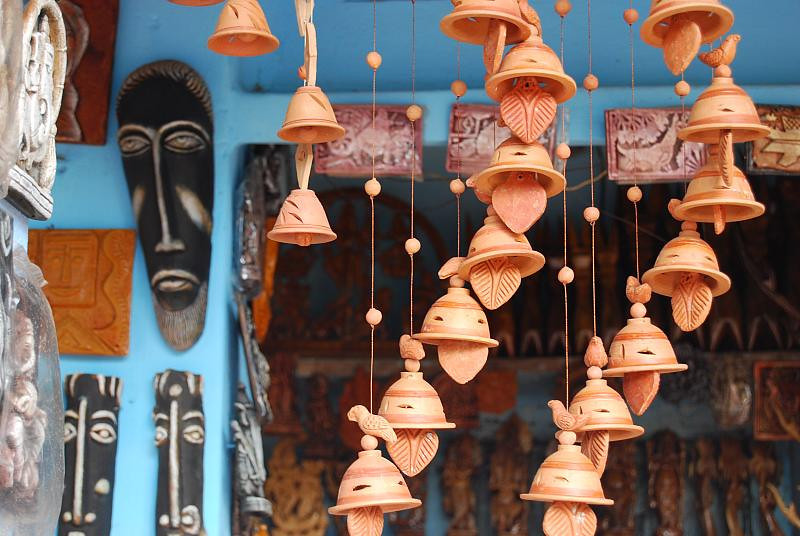 Terracotta products of Bishnupur