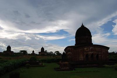 Kalachand temple under kala clouds
