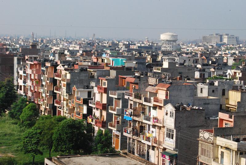The 'poor' neighbourhood