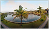 Panoramic view from room (12 pictures) <br /> Zuri Resort, Kumarakom