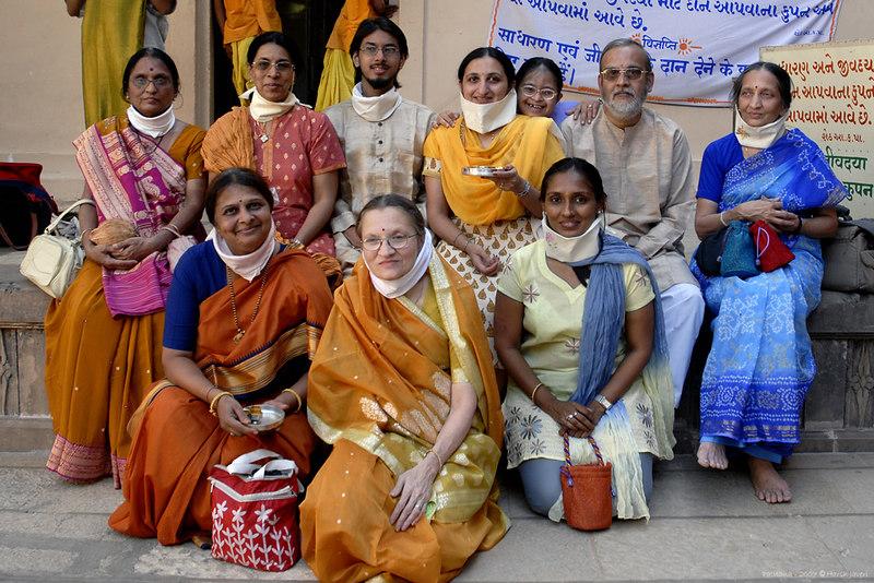 Kirti, Swarup, Jay, Renu, Vini, Dhimant, Priti, Swati, Urvashi & Madhavi