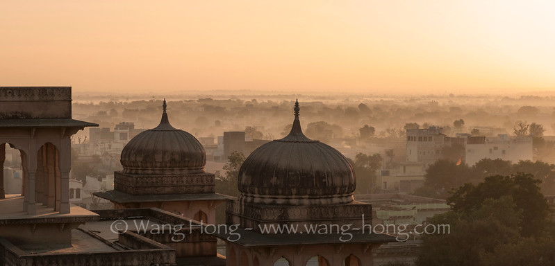 Mandawa at sunrise