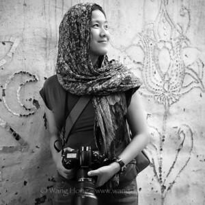 Photographer (Wang Hong) in Jaisalmer, by Mr. Chi Hong