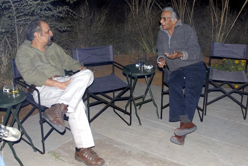 Ashu & John Singh at Khem Vilas