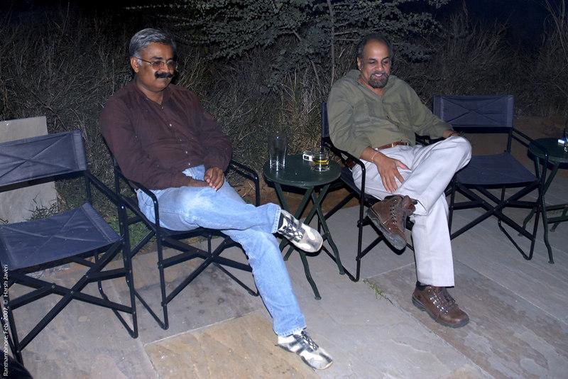 Ashu & Govardhan at Khem Vilas
