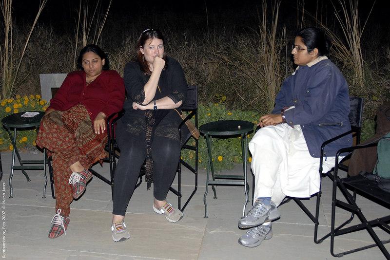 Priya, Connie & Padmini at Khem Vilas