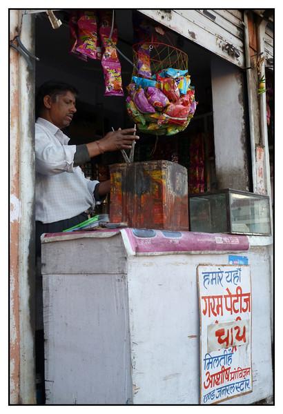 Early morning tea at Jaipur