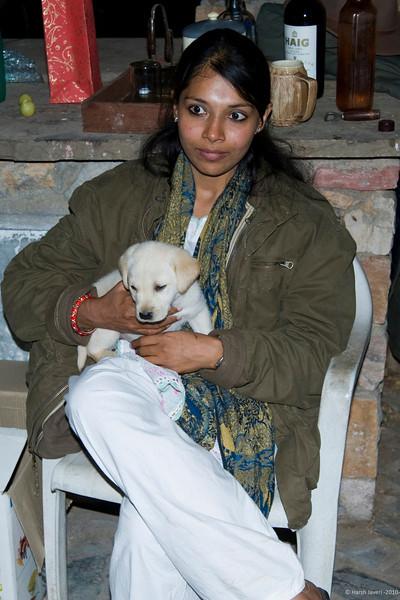 Divya with Hosho