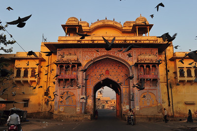 Gate to the City Palace, Jaipur