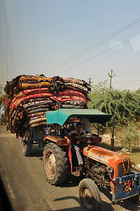 Delivering textiles