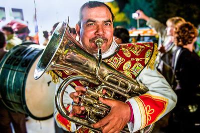 Trumpet Man.