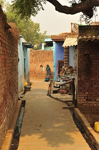 Village outside Agra