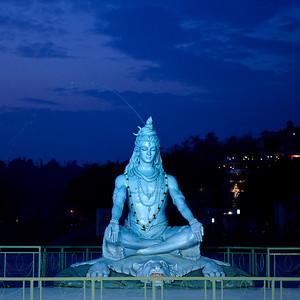 Shiva's Statue.