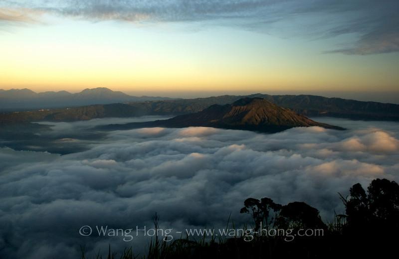 Mt. Batur at Sunrise - Let there be light!