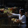 Offering at Pura Tirta Empul (Temple of Holy Water)