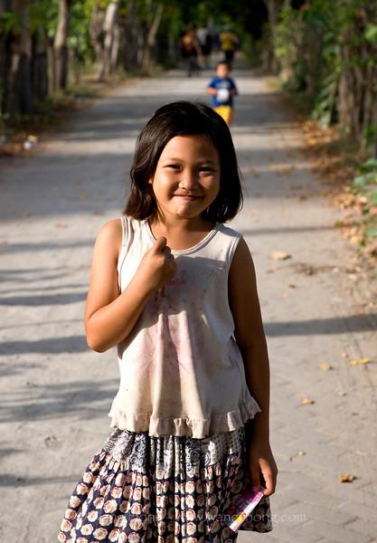 Sweet girl on Gili Air