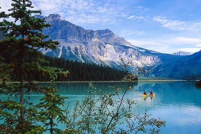Kinney Lake.  Jasper NP, Canada.