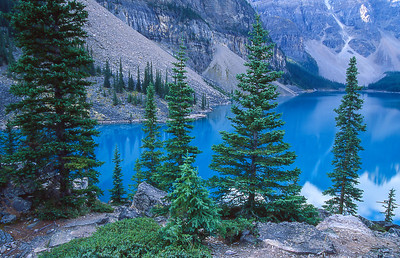 Lake Louise.  Canadian Rockies, Canada.